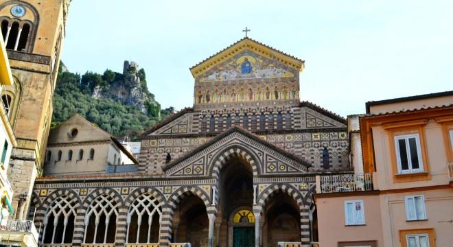 The beautiful Duomo di Amalfi