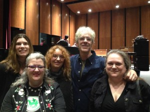 Fans (including yours truly) with Stewart Copeland, March 28 2015.