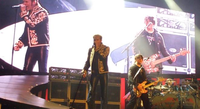3rd row Van Halen in Atlantic City, My 2008.