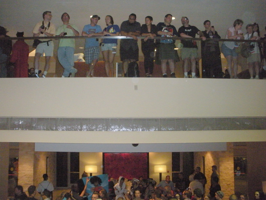 People-watching: one of the major activities at Dragon*Con.