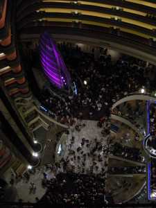 The Marriott Marquis where much of the action at Dragon*Con takes place.