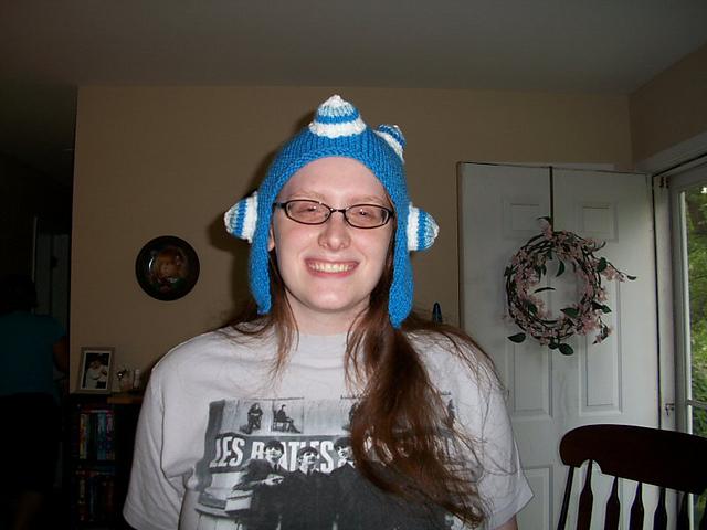 Blue Katamari Hat
