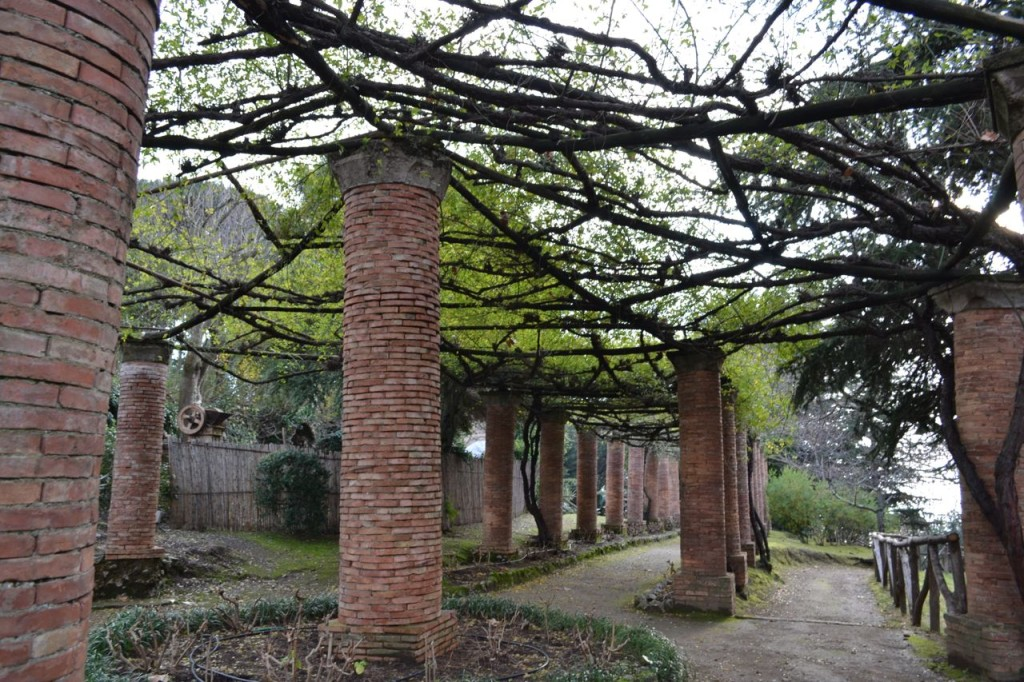 Villa Cimbrone's gardens have a more rustic, woodlands feel to them than at Villa Rufolo.