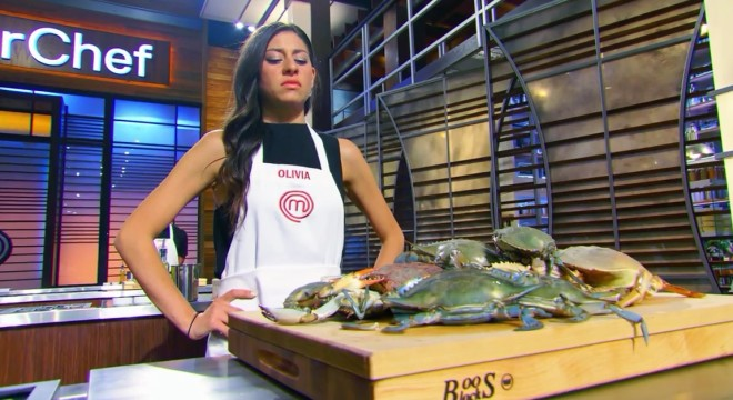 """Screencapture from the MasterChef Season 6 episode """"Clawing to Victory""""."""