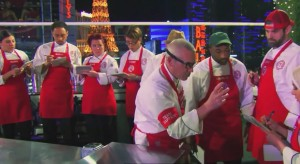 Screencapture from the season 6 episode of MasterChef.