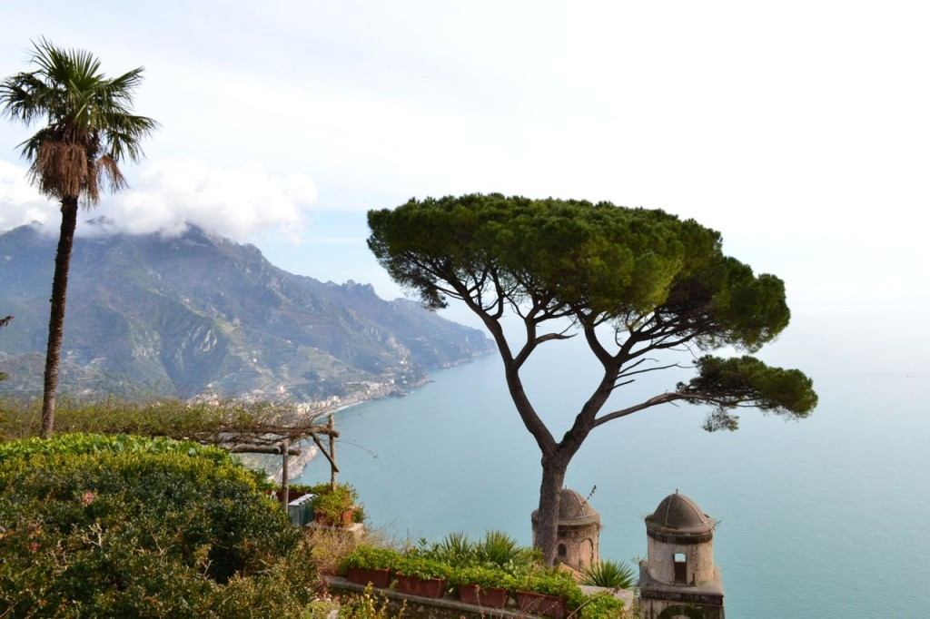 The view from Villa Rufolo in Ravello, Italy. All photos on this page were taken by the author, sockii, in January 2014.