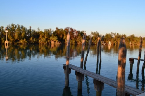 Peaceful waters on the rural island of Torcello.