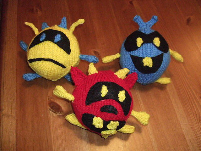 Yellow Red and Blue Viruses