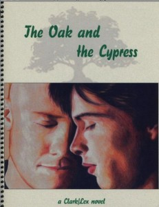 Cover of The Oak and the Cypress, a Smallville fanzine