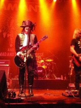 Adam Ant at the Norva