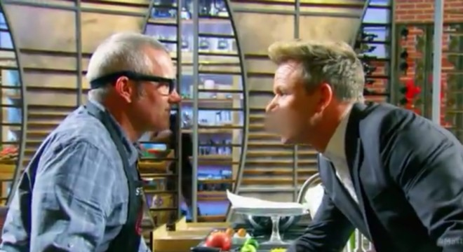 Screencapture from the Jul 22, 2015 episode of MasterChef.