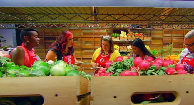 Screencapture from the July 29 2015 episode of MasterChef.
