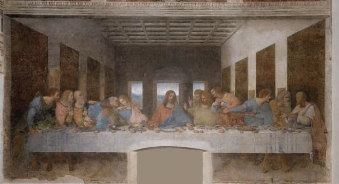 """""""The Last Supper"""" by Leonardo Da Vinci."""