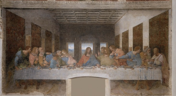 """The Last Supper"" by Leonardo Da Vinci."
