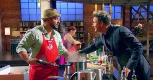 Screenshot from the September 9 2015 episode of MasterChef US.