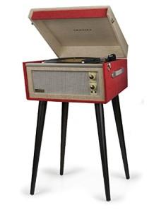 Vintage style crosley turntable
