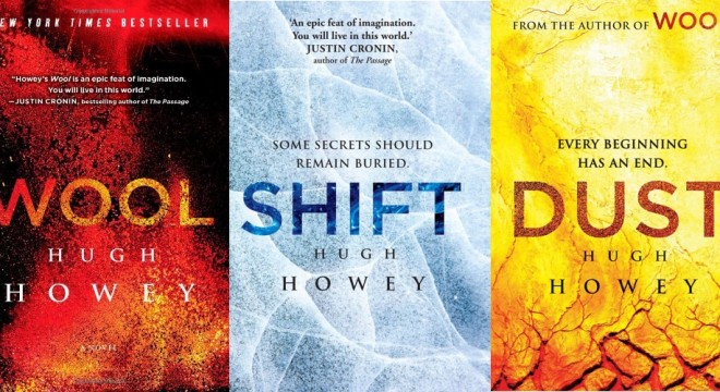 The Silo Saga by Hugh Howey.