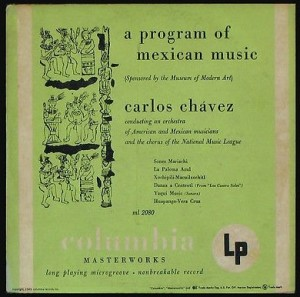 Chavez Warhol Mexican Music Cover