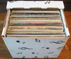 LP Cardboard box