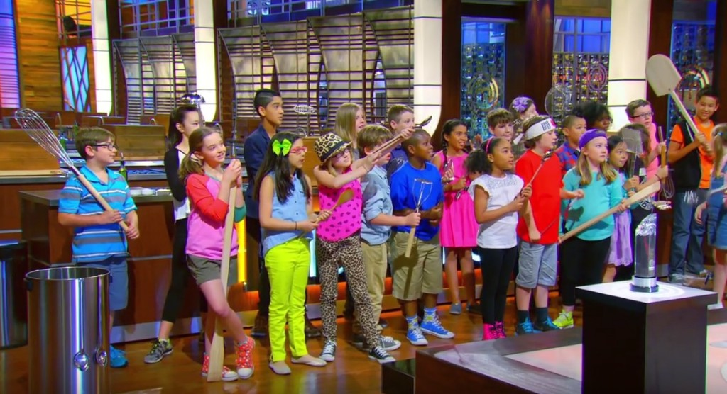 Screencap from the November 6 2015 episode of MasterChef Junior.