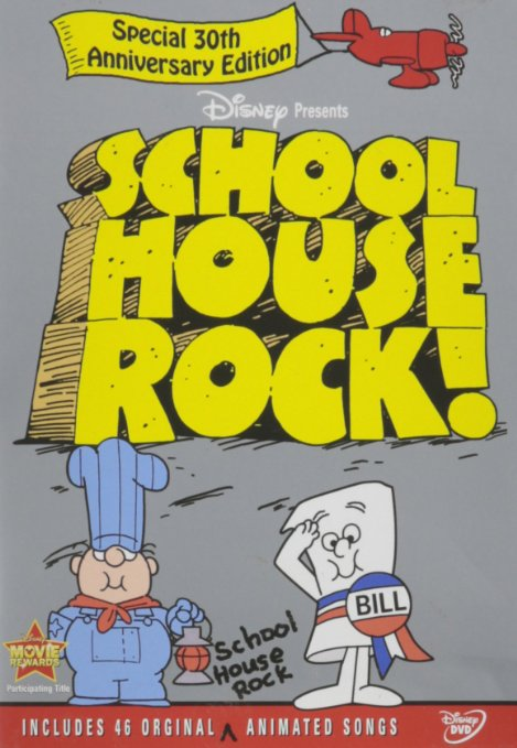 This edition of Schoolhouse Rock has 46 of the songs and cartoons we grew up with.