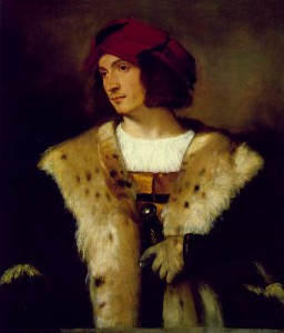Titian's Portrait of a Man in a Red Cap