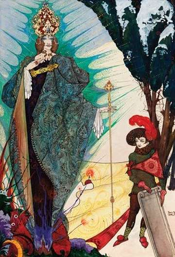 snow-queen-picture--harry-clarke
